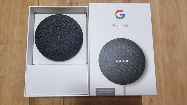 Google Nest Mini - 2a Geração - Assistente Virtual - Google Home