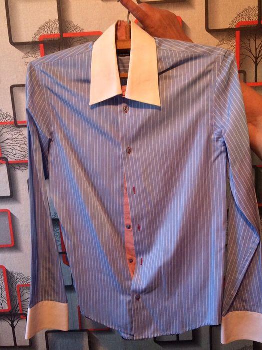 Рубашка, белая фирменная размер s,m Чернигов - изображение 1