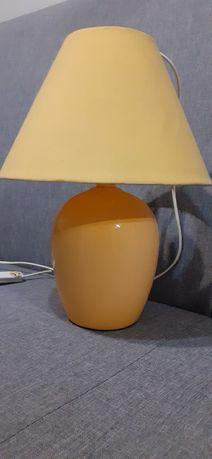 Żółta lampka nocna IKEA