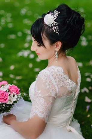Свадебное платье + кольца (3) - Дания (цвет айвори)