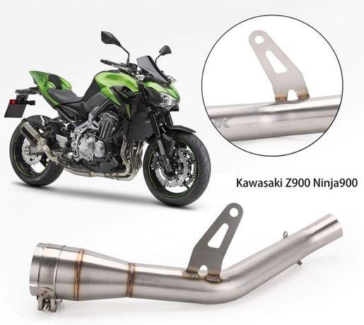 Wydech Dekat 17-20r Kawasaki Z900 Ninja 900 Akrapovic Scorpion Decat