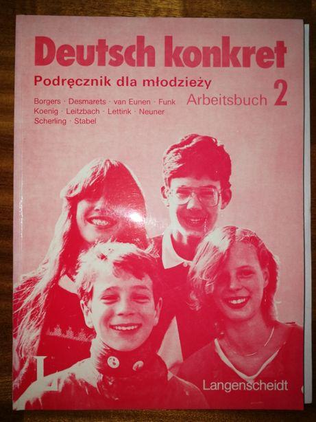 Deutsch konkret. Arbeitsbuch 2. Książka ćwiczeń 2