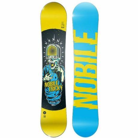 Deska snowboardowa NOBILE Tricky147 cm NOWA