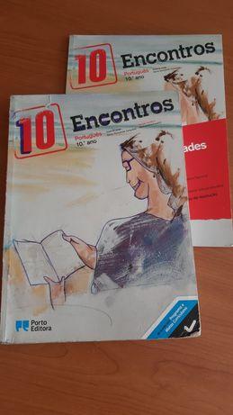 Livro Encontros - Português - 10°ano