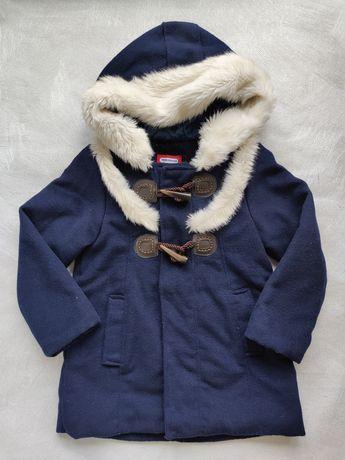 Пальто для девочки. На рост до 120 см