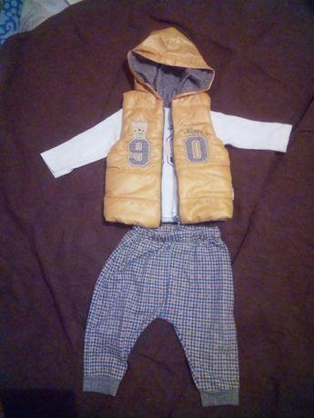 Дитячий костюм з жилеткою