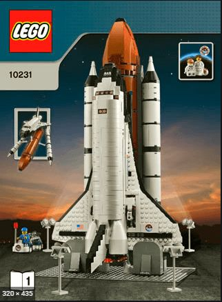 LEGO 10231 Shuttle Expedition