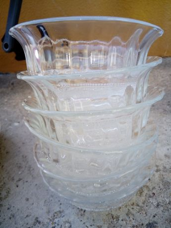 Conjunto 6 tigelas sobremesa vidro