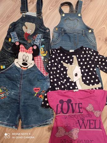 Ubranka dla dziewczynki 80-86-92