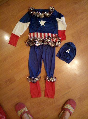 Новогодний костюм человек-америка