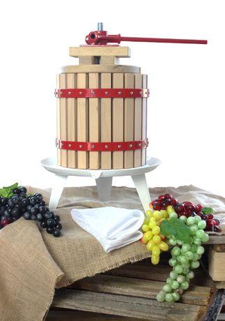 PRASA WYCISKARKA do soku owoców wina 30 L + WOREK