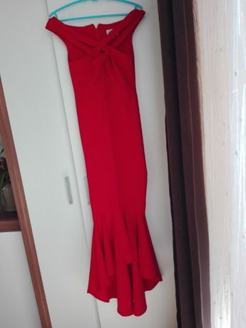 Sukienka syrena r.34/36 dłuższy tył