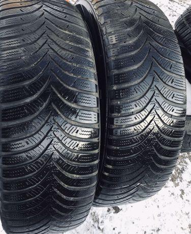 Hankook 195/65r15 2 шт зима резина шины б/у склад