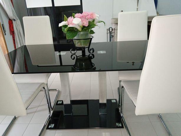 Mobiliário de sala moderno como novo