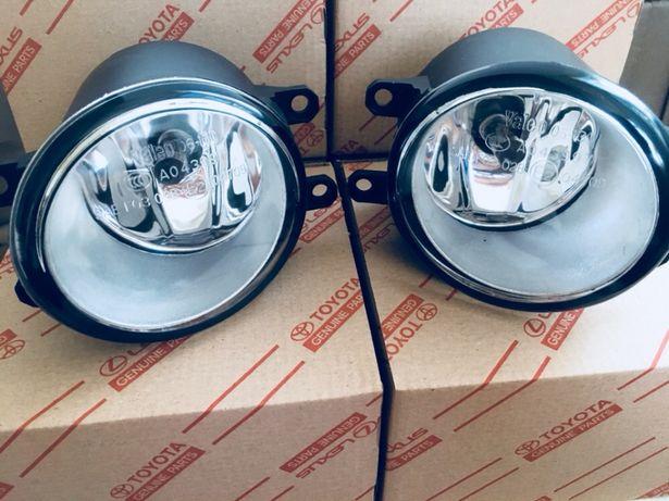 Противотуманки туманки галогенки ПТФ Lexus Lx Gx 570 460 Es Gs Is Rx
