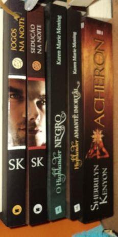 Livros vários preços diferentes