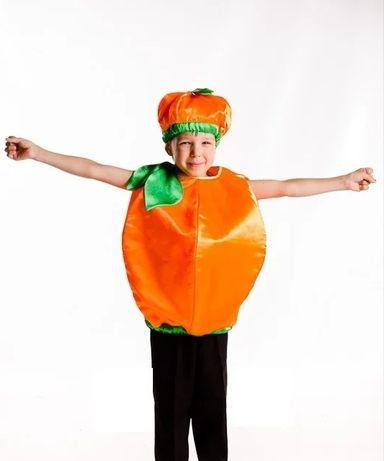Костюм апельсин, мандарин