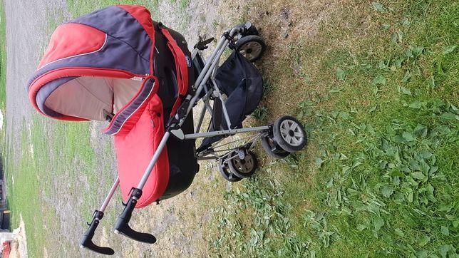 Wózek wielofunkcyjny CHICCO : głęboki, spacerówka, fotelik