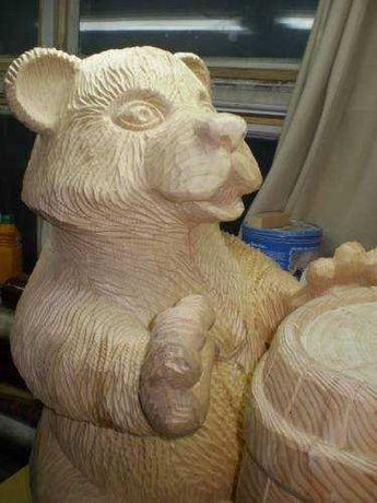 Скульптуры из дерева. Резьба по дереву. Ручная работа