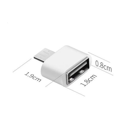 OTG переходник для USB флешки.