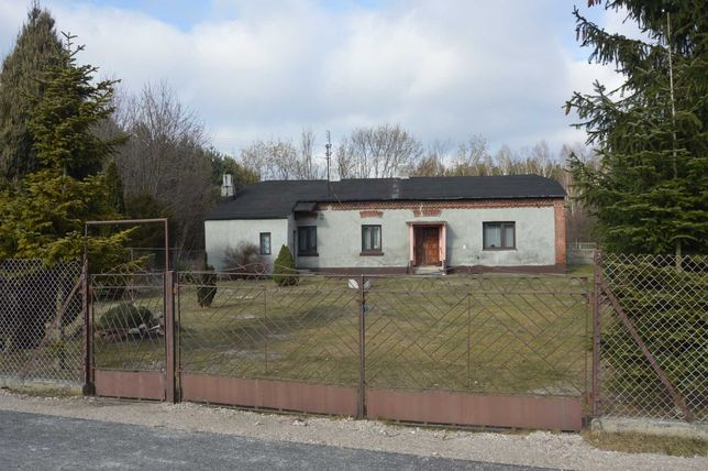 dom z działką i budynkami gospodarczymi