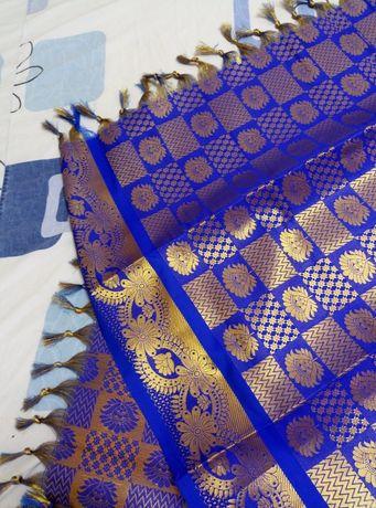 Платок парчевый новый размер 1,80х88 см