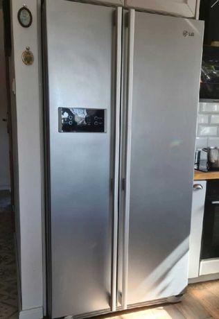 Chłodziarko-zamrażarka lodówka LG