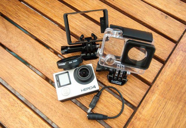 GoPro 4 Hero Black Edition + acessórios