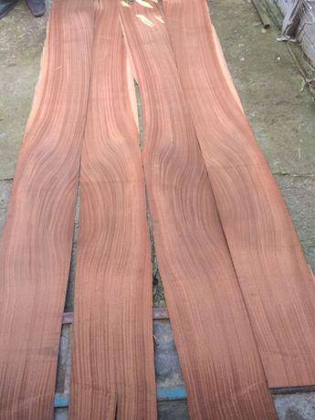 Шпон красного дерева