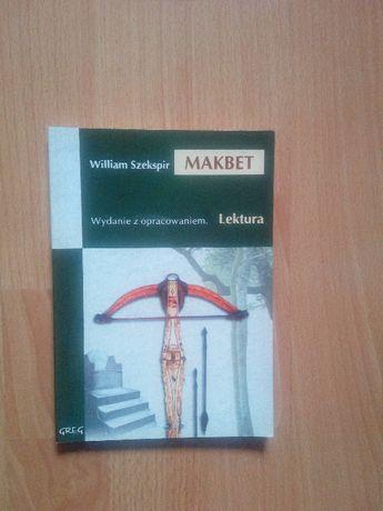 Makbet William Szekspir Wydanie z opracowaniem Wydawnictwo GREG