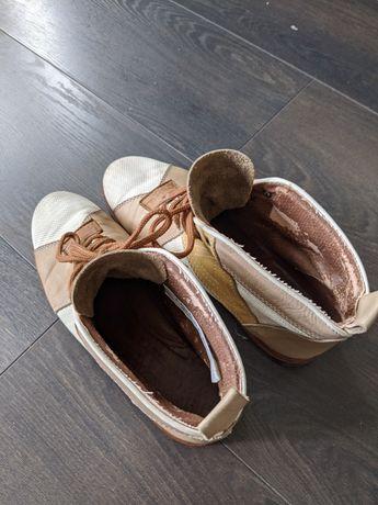 ботинки Trickers кожа