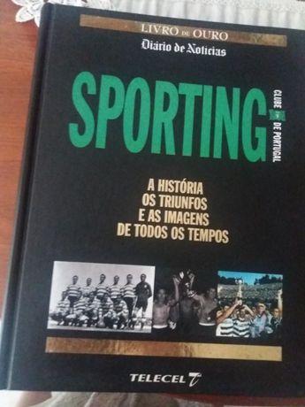 3 Livros Sporting Benfica Porto