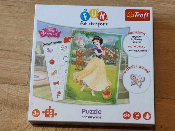Puzzle Trefl Disney Princess Fun For everyone sensoryczne 3+ 15 el.