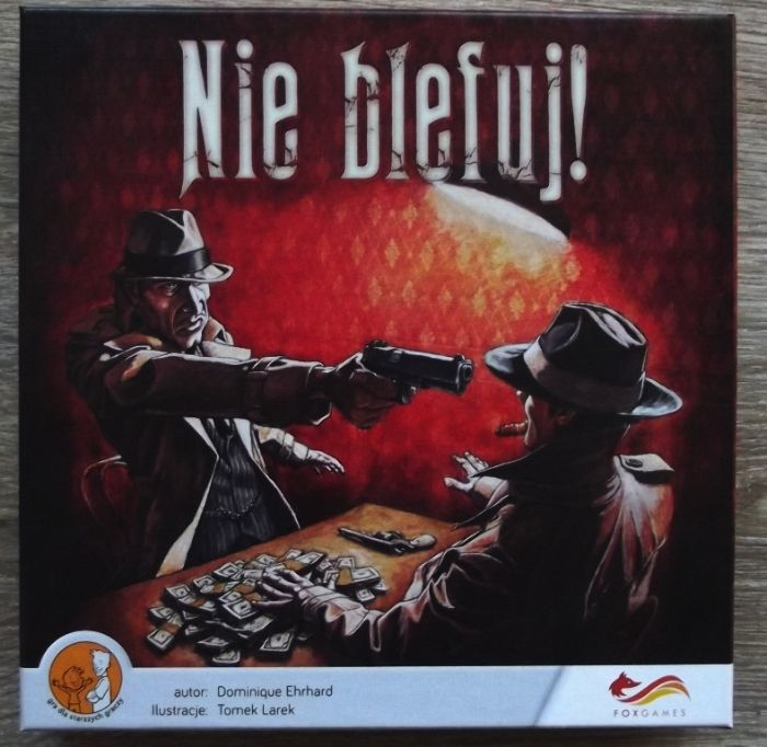 Gra planszowa Foxgames Nie blefuj! - praktycznie nowa Poznań - image 1