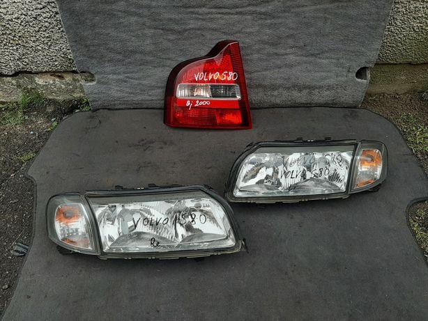 Фари фара Volvo S80 Вольво С80