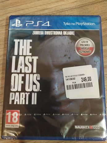 The Last of Us Part 2 II PL PS4 PS5 NOWA