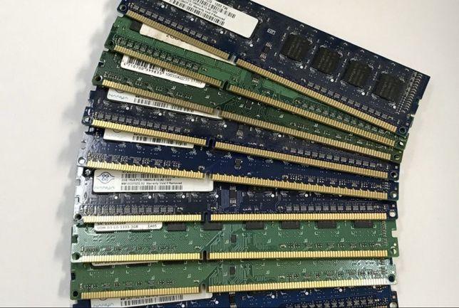 Оперативная память для ПК 4Gb DDR3 PC3 12800 1600MHz 1R бу intel amd