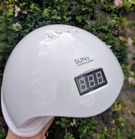 Лампа SUN5 48W UV/LED с дисплеем маникюр педикюр гельлак ногти