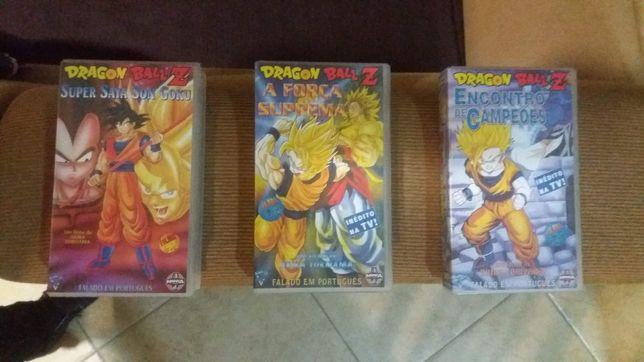 Cassetes Vídeo Dragon Ball Z