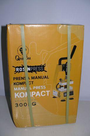 Prensa Rosin Press Kompact V2.0 Manual 600Kg (Qnubu) - Selada