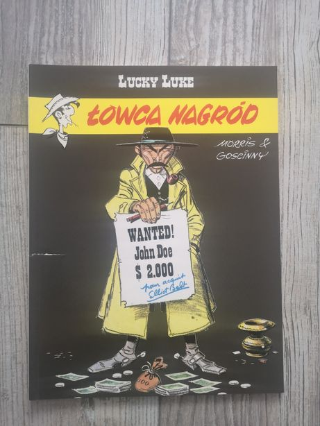 Komiks pt Lucky Luke Łowca Nagród tom 39