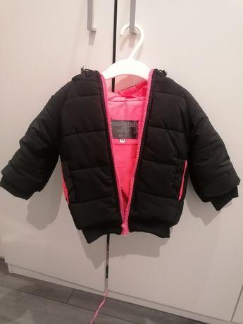 Sprzedam kurtkę zimową dla dziewczynki rozmiar 74