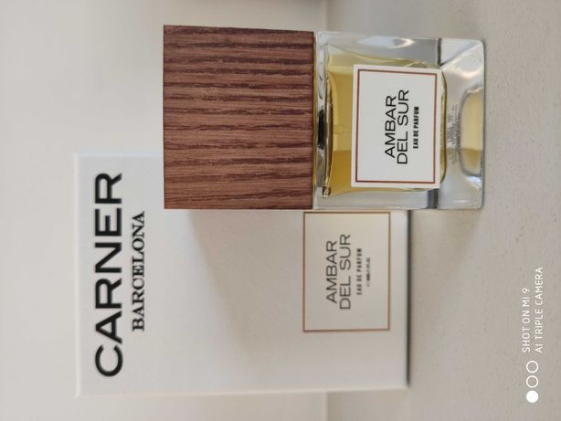 Woda perfumowana Carner Barcelona Ambar del Sur 50 ml