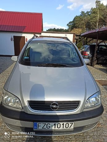 Opel Zafira Typ A