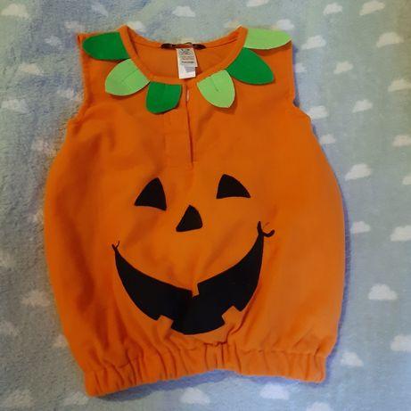 Strój Halloween  bardzo wygodny.