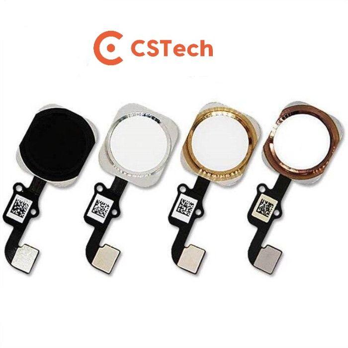 iPhone 5/5S/6/6S/7/8/X Plus botão home Touch ID flex cable completo Rio Tinto - imagem 1