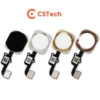 iPhone 5/5S/6/6S/7/8/X Plus botão home Touch ID flex cable completo