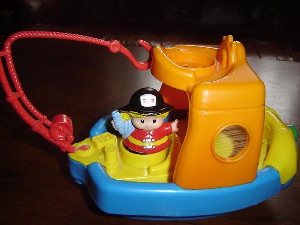 super zabawka do kąpania łódka fisher price
