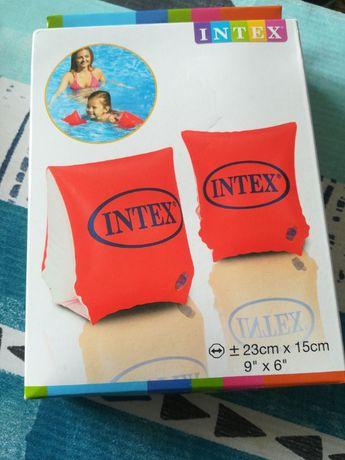 Nowe rękawki dmuchane do pływania dla dzieci 3-6 lat Intex