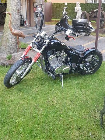 Bobber 600cm Honda  ZABYTEK!!! Super Stan !!! Śliczna !!!